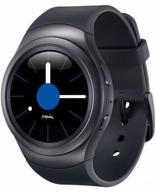 Смарт-часы Samsung Galaxy Gear S2 SM-R7200 1.2 темно-серый / черный