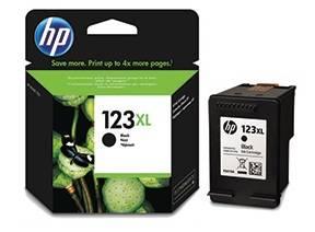 Картридж струйный HP 123XL F6V19AE черный - фото 1