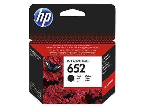 Картридж струйный HP 652 F6V25AE черный - фото 1