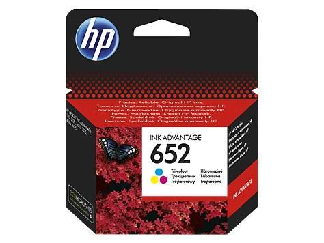 Картридж струйный HP 652 F6V24AE многоцветный - фото 1