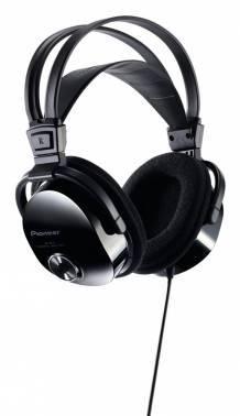 Наушники Pioneer SE-M531 черный, мониторы, крепление оголовье, проводные, прямой коннектор, кабель 3.5м