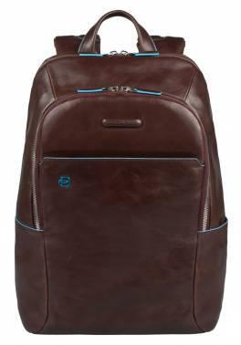 Рюкзак Piquadro Blue Square коричневый, кожа натуральная (CA3214B2/MO)