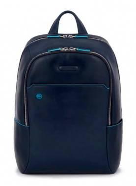 Рюкзак Piquadro Blue Square синий, кожа натуральная (CA3214B2/BLU2)