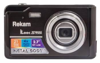 Фотоаппарат Rekam iLook S955i черный
