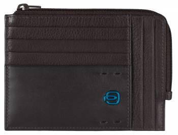 Чехол для кредитных карт Piquadro Pulse PU1243P15 / M коричневый натур.кожа