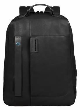 Рюкзак Piquadro Pulse черный, кожа натуральная (CA3349P15/N)