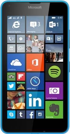 Смартфон Microsoft Lumia 640 LTE синий - фото 1