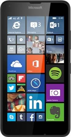 Смартфон Microsoft Lumia 640 LTE черный - фото 1
