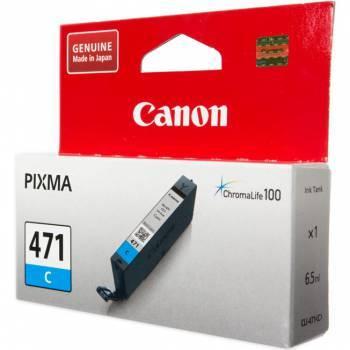 Картридж Canon CLI-471C голубой (0401C001)