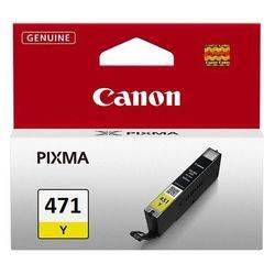 Картридж Canon CLI-471Y желтый (0403C001)