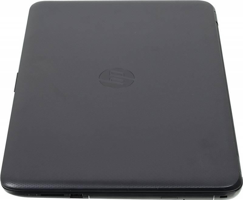 """Ноутбук 15.6"""" HP 15-ac139ur черный - фото 5"""