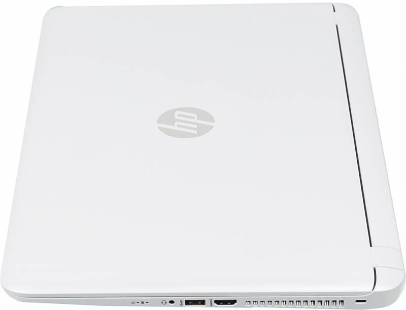 "Ноутбук 15.6"" HP Pavilion 15-ab224ur белый - фото 4"