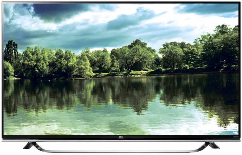 "Телевизор LG 49UF8507  49"" (124.46 см) Ultra HD 4K (2160p) DVB-T2 DVB-C DVB-S2 WiFi Smart TV черный - фото 1"