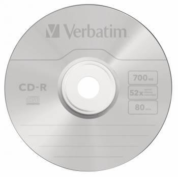 Диск CD-R Verbatim 700Mb 52x (10шт) (43327)