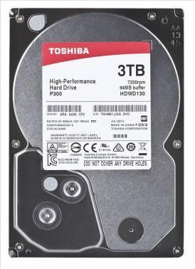 Жесткий диск 3Tb Toshiba P300 HDWD130UZSVA SATA-III