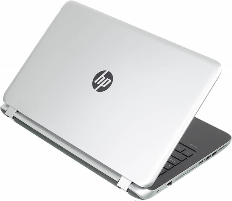 "Ноутбук 15.6"" HP Pavilion 15-p203ur (L1S78EA) серебристый - фото 2"