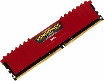 Модуль памяти DIMM DDR4 8Gb Corsair (CMK8GX4M1A2666C16R)