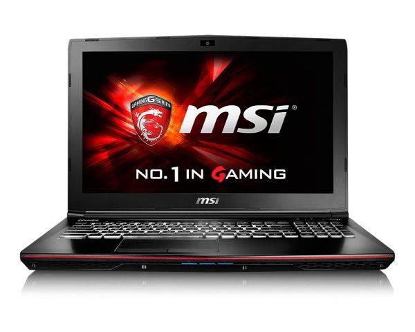 """Ноутбук 15.6"""" MSI GE62 6QC-075RU черный - фото 1"""