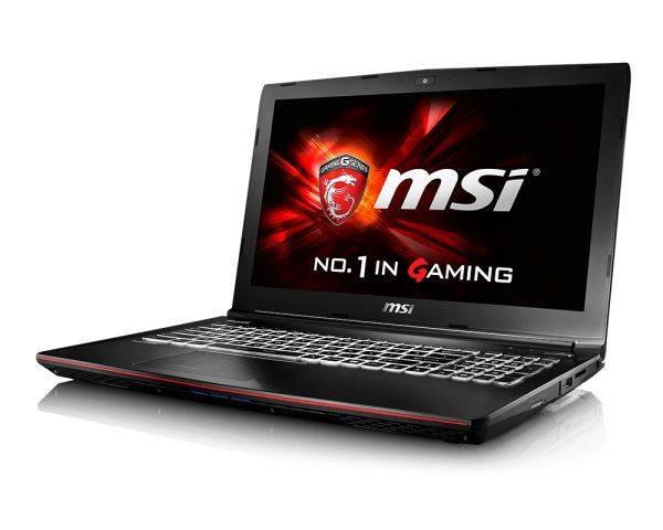 """Ноутбук 15.6"""" MSI GE62 6QC-075RU черный - фото 2"""