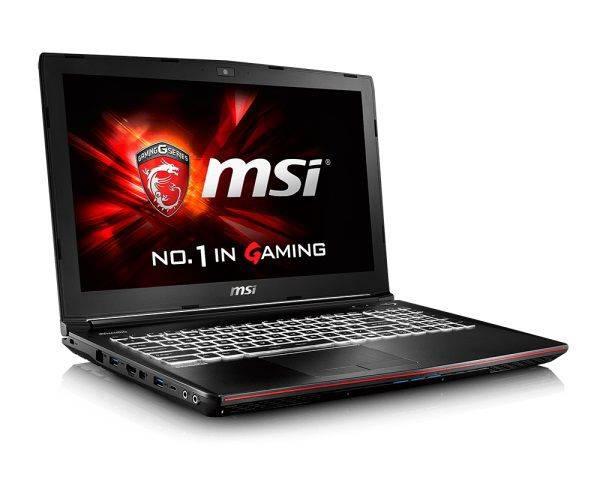 """Ноутбук 15.6"""" MSI GE62 6QC-075RU черный - фото 3"""
