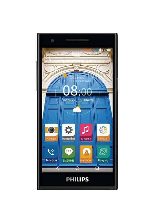 Смартфон Philips S396 8ГБ черный - фото 1