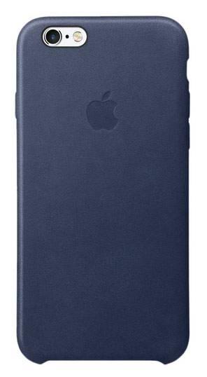 Чехол Apple MKXU2ZM/A, для Apple iPhone 6S, темно-синий - фото 1
