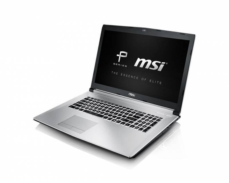 "Ноутбук 17.3"" MSI PE70 6QE-062RU серебристый - фото 5"