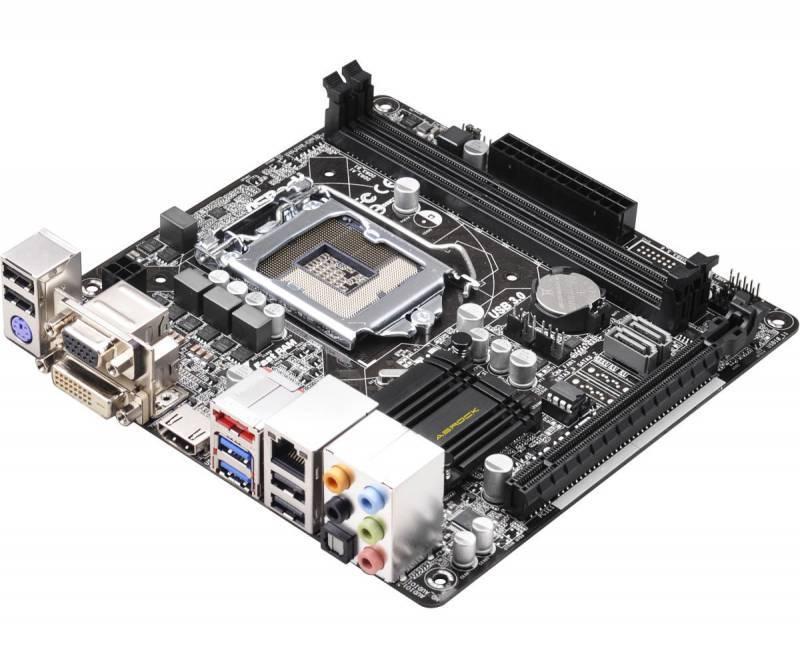 Материнская плата Asrock H81M-ITX Soc-1150 mini-ITX - фото 1