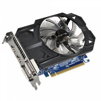 Видеокарта Gigabyte GV-N75TOC-1GI, процессор nVidia GeForce GTX 750Ti 1033 МГц, объем видеопамяти 1024 Мб 128 бит GDDR5 5400 МГц, интерфейс PCI-E, разъёмы DVIx1/HDMIx2, поддержка HDCP, Ret