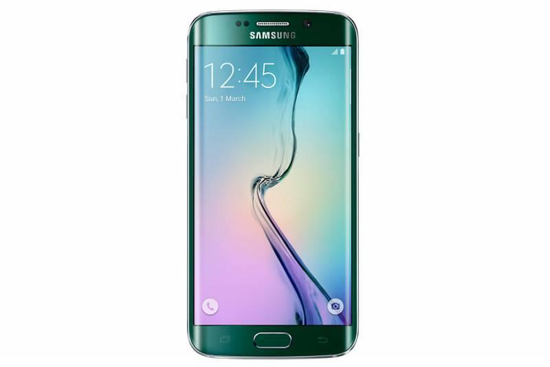 Смартфон Samsung Galaxy S6 Edge SM-G925F 64ГБ зеленый - фото 1