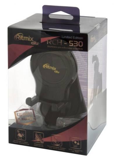 Держатель Ritmix RCH-530 черный (RCH-530 LIMITED EDITION) - фото 3