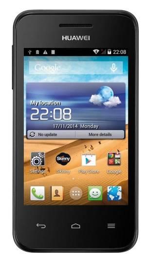 Смартфон Huawei Ascend Y221 черный - фото 1