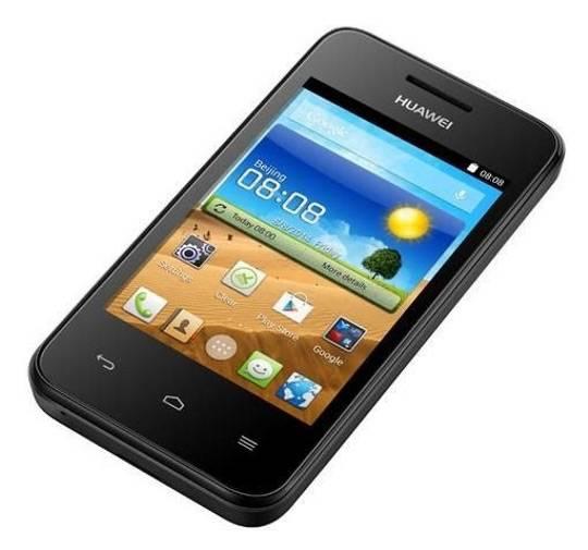 Смартфон Huawei Ascend Y221 черный - фото 3
