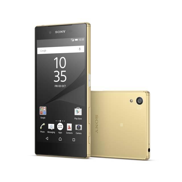 Смартфон Sony Xperia Z5 E6653 32ГБ золотистый - фото 1