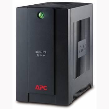 ИБП APC Back-UPS BX800LI черный