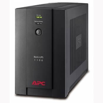 ИБП APC Back-UPS BX1100LI черный