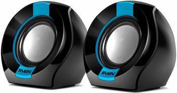 Колонки 2.0 Sven 150 черный / синий