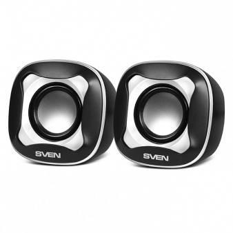 Колонки Sven 170 черный/белый (SV-013523)