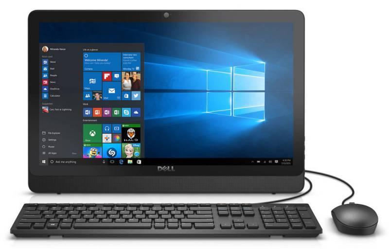 "Моноблок 19.5"" Dell Inspiron 20 3052 черный - фото 1"