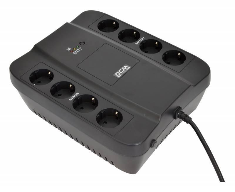 ИБП Powercom Spider SPD-1000N черный - фото 1