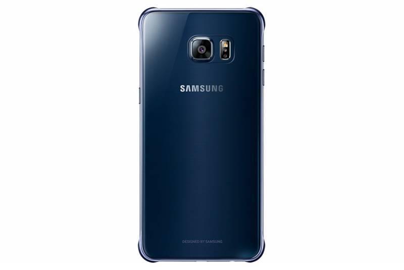 Чехол Samsung ClearCover G928, для Samsung Galaxy S6 Edge Plus, темно-синий/прозрачный (EF-QG928CBEGRU) - фото 3