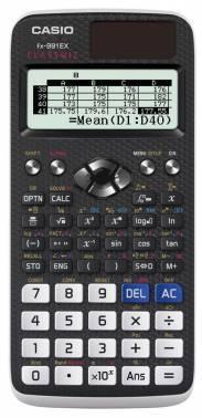 Калькулятор научный Casio Classwiz FX-991EX черный (FX-991EX-S-ET-V)
