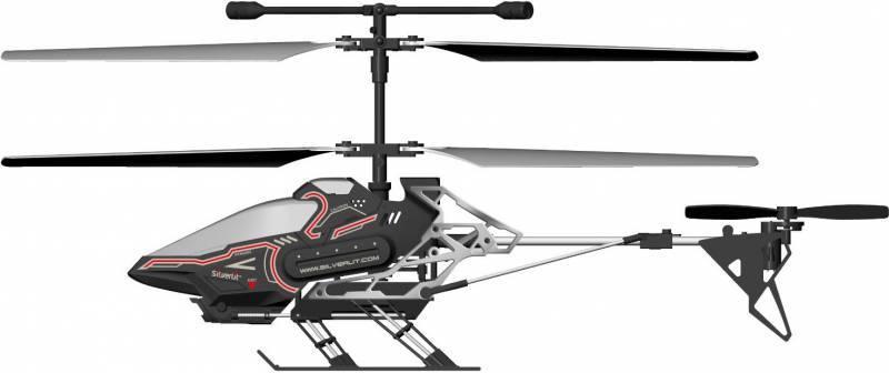 Радиоуправляемая игрушка Silverlit Вертолет Sky Eye пластик/металл цвета в ассортименте (от 12 лет) - фото 1