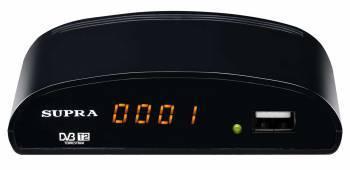 Ресивер DVB-T2 Supra SDT-83 черный