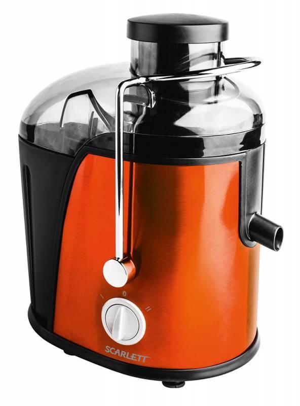 Соковыжималка центробежная Scarlett SC-JE50S16 оранжевый - фото 1