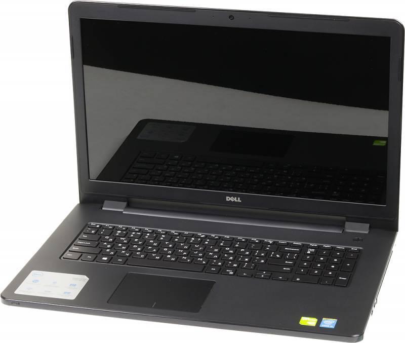 """Ноутбук 17.3"""" Dell Inspiron 5758 черный - фото 1"""