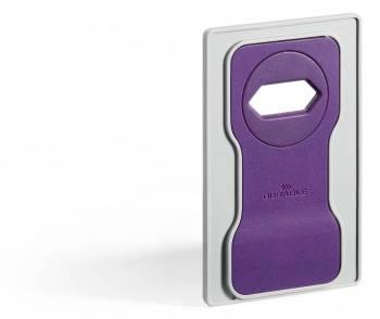 Подставка Durable 7735-12 Varicolor для мобильного телефона 84x134x4.5мм фиолетовый / серый
