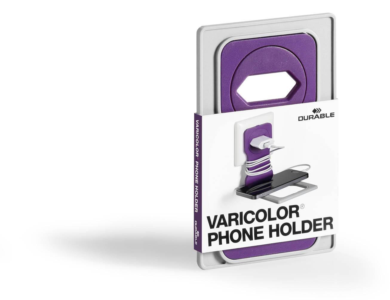 Подставка Durable 7735-12 Varicolor фиолетовый/серый - фото 3
