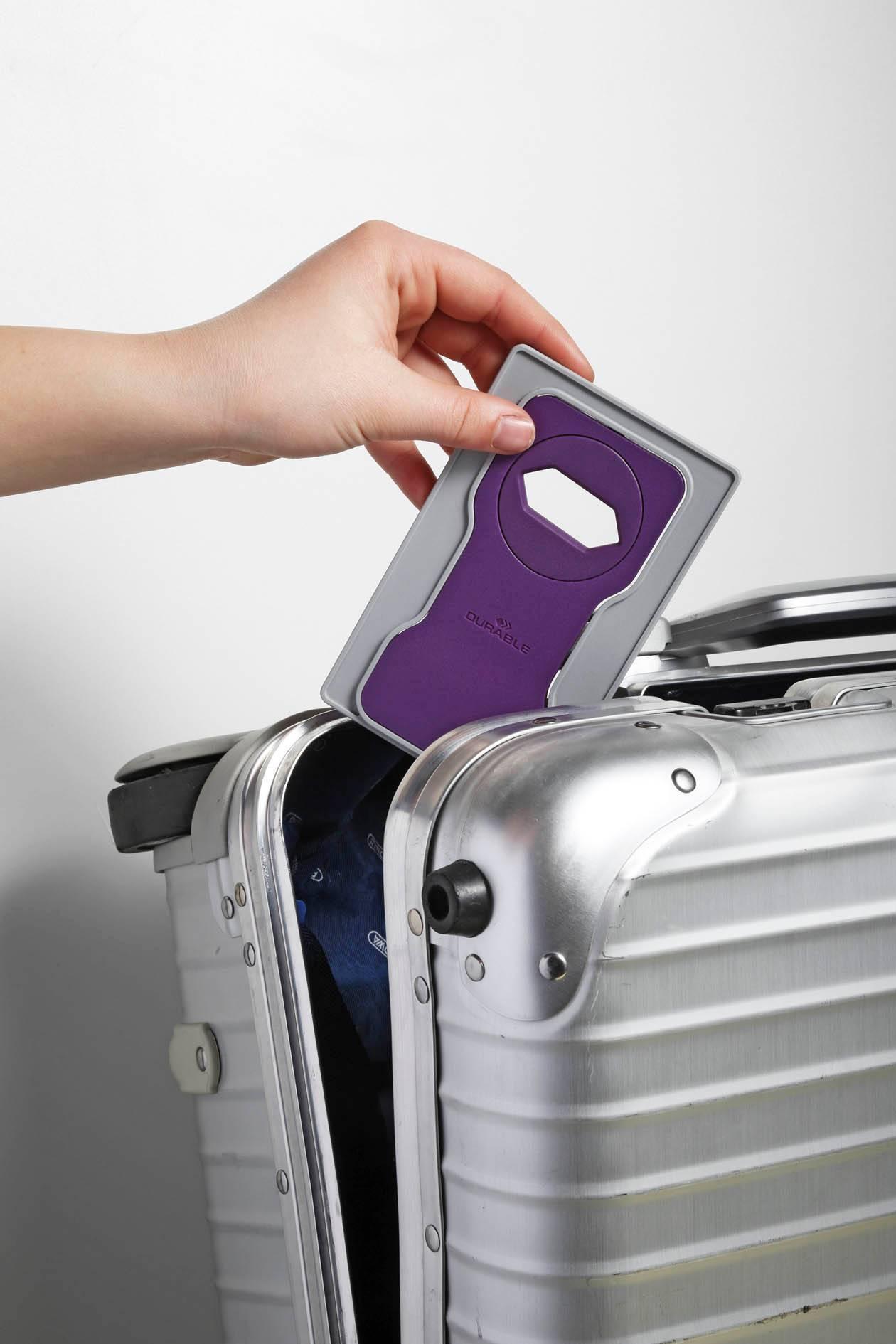 Подставка Durable 7735-12 Varicolor фиолетовый/серый - фото 4