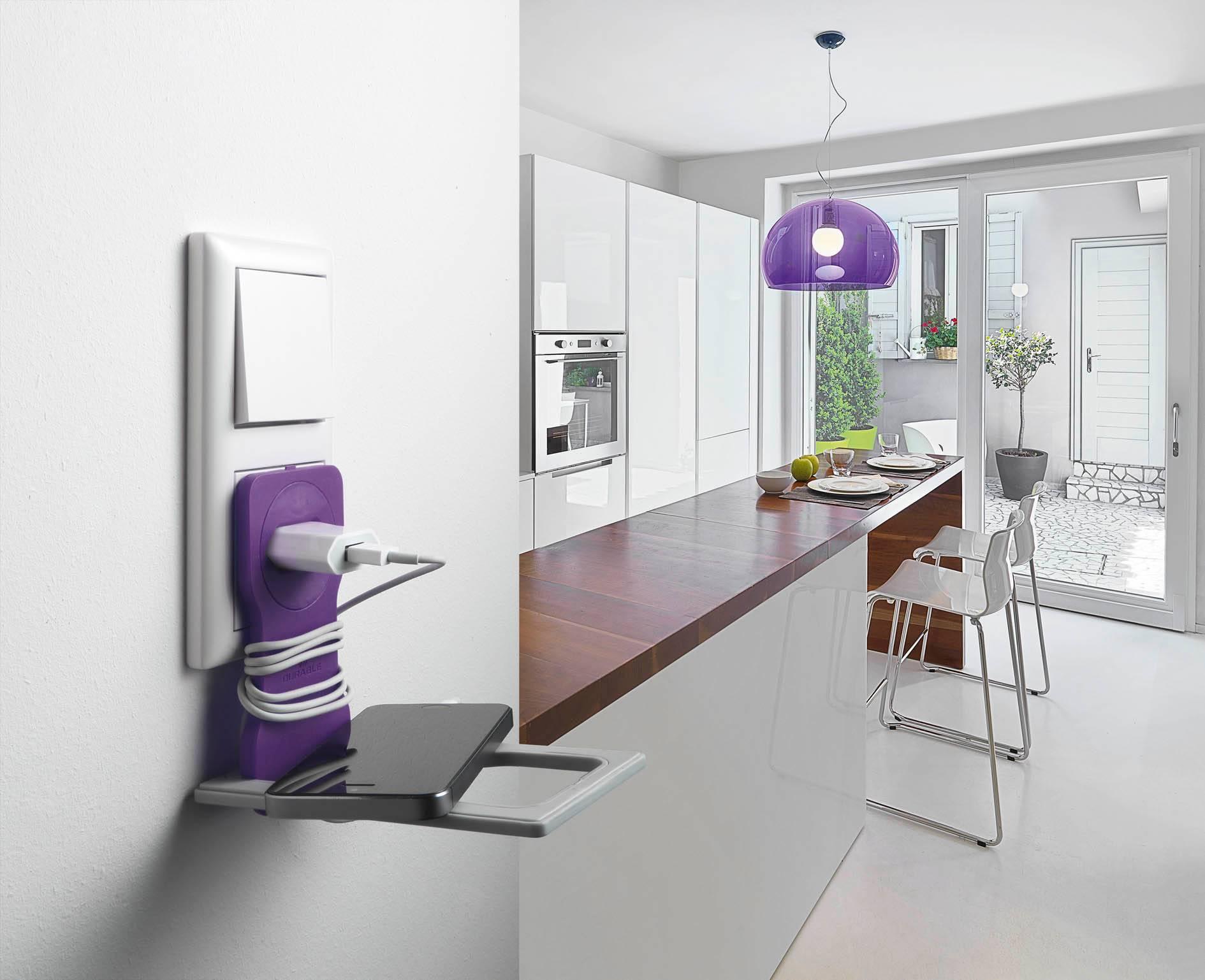Подставка Durable 7735-12 Varicolor фиолетовый/серый - фото 5
